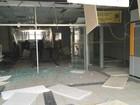 Cofre de banco não abre após explosão provocada por bandidos