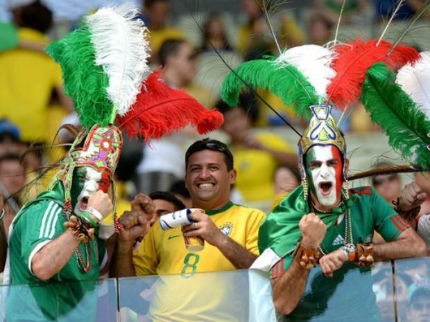 Brasil x México (Foto: André Durão/GloboEsporte.com)
