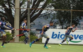 Sem bola: solidariedade à Chape marca treino técnico no Cruzeiro