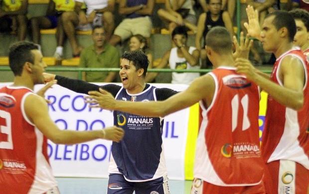 Vôlei Manaus Esporte Clube Supercopa de Vôlei (Foto: Alexandre Arruda/CBV)