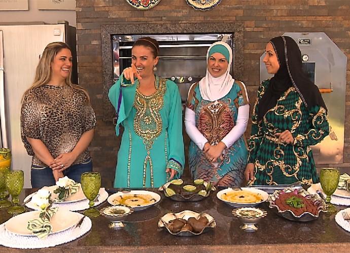 Neste sábado (23), você vai aprender uma receita árabe pra fazer aí, na sua casa (Foto: Reprodução/ Plug)