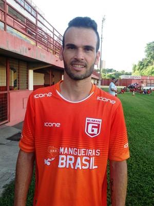 Michel Cury atuou pelo Guarani-MG na temporada anterior (Foto: Ricardo Welbert/GE)