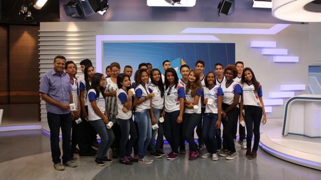 programa de visitas (Foto: tv globo )