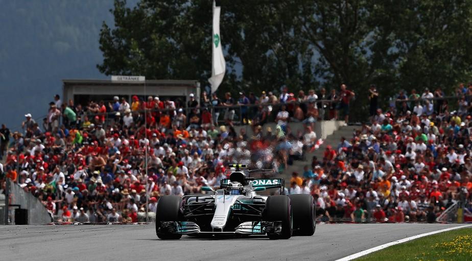 Impecável, Bottas vence o GP da Áustria. Vettel é 2º e abre mais vantagem de Hamilton