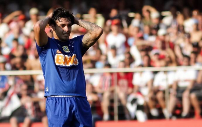 São Paulo x Cruzeiro - Ricardo Goulart lamenta chance perdida (Foto: Futura Press)