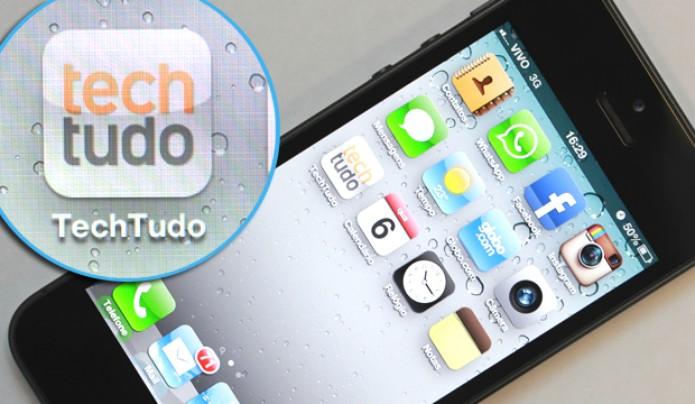 A resolução da tela do iPhone 5 continua a mesma das edições anteriores (Foto: Allan Melo / TechTudo)