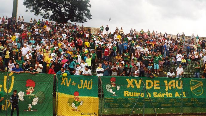 XV de Jaú tem boa média de público no estádio Zezinho Magalhães (Foto: Tiago Pavini / XV de Jaú)