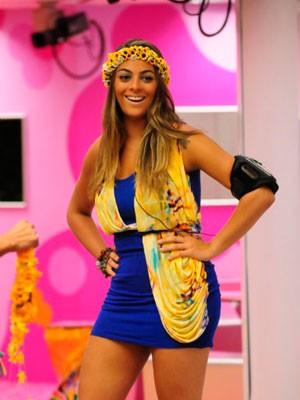 Monique BBB Garota Verão RS (Foto: Frederico Rozário/TV Globo)