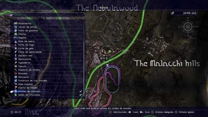 Final Fantasy XV: como personalizar e disputar corridas com Chocobos (Foto: Reprodução/Murilo Molina)