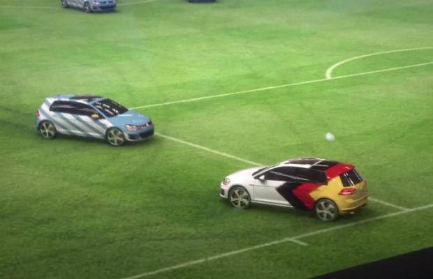 Volkswagen Golf GTI vence Alemanha em campo (Foto: Reprodução)