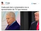 Internautas repercutem novo visual de Silvio Santos: 'a cara do Cid Moreira'