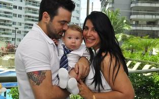Festa do batizado filho de Priscila Pires (Foto: Roberto Teixeira/ EGO)