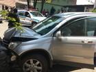 Suspeito de roubar carro em Perdigão é preso após batida em Divinópolis