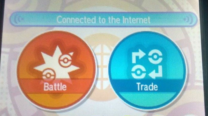 Pokémon Sun e Moon: clique no grande botão Trade (Foto: Reprodução/Thomas Schulze)