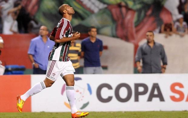 Leandro Euzébio gol Fluminense (Foto: Dhavid Normando / Photocamera)
