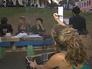 Circuito Cultural Praça Rui Barbosa Uberaba (Foto: Reprodução/TV Integração)