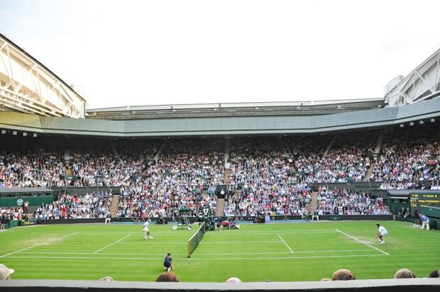 Para assistir a um jogo em Wimbledon, é necessário ser sorteado para, então, comprar os ingressos (Foto: Reprodução)