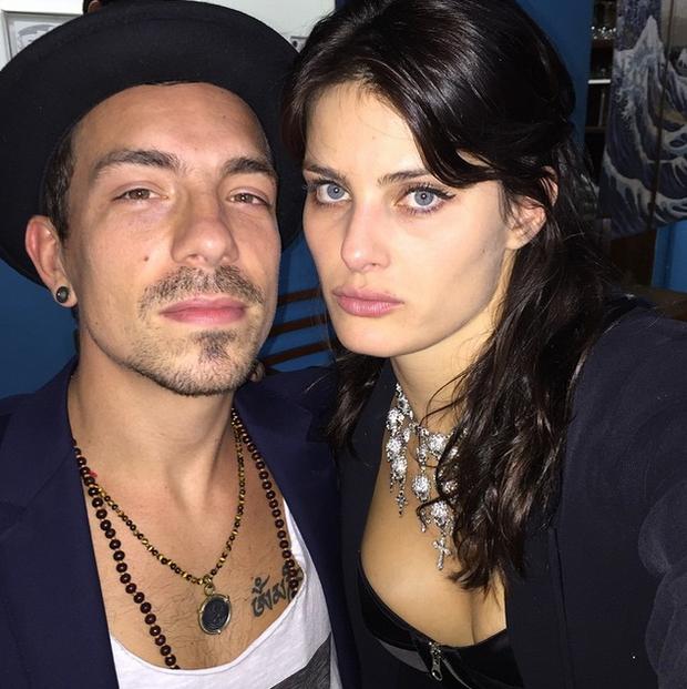 Di Ferrero e Isabelli Fontana (Foto: Reprodução/Instagram)
