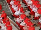 Papa Francisco ordena 17 novos cardeais