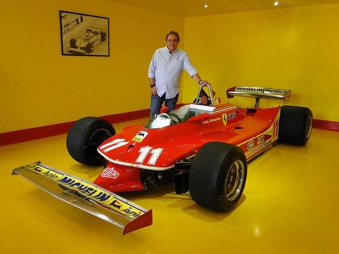 Ferrari de Jody Scheckter
