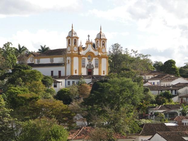 Matriz de Santo Antonio, em Tiradentes (Foto: Alex Araújo/G1)
