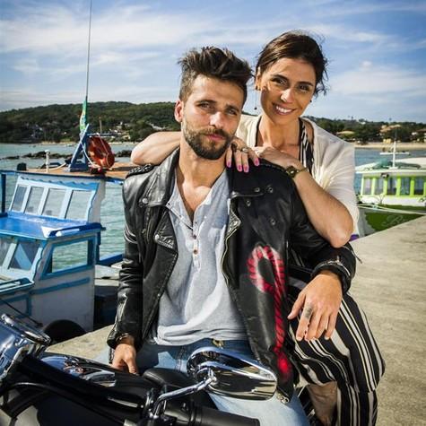 Bruno Gagliasso e Giovanna Antonelli (Foto: João Miguel Júnior/ TV Globo)