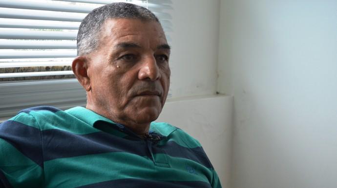 Edmilson Santos, técnico do Socorrense (Foto: Felipe Martins)