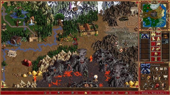 Heroes of Might and Magic III HD poderia ter trazido expansões do jogo (Foto: Divulgação)