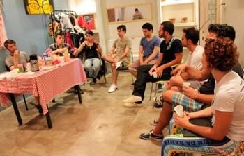 Café na Casa da Esquina, sede do grupo (Foto: Divulgação)