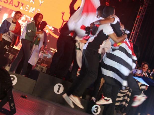 Festa de encerramento da Olimpíada do Conhecimento 2012 (Foto: Maurício Nascimento)