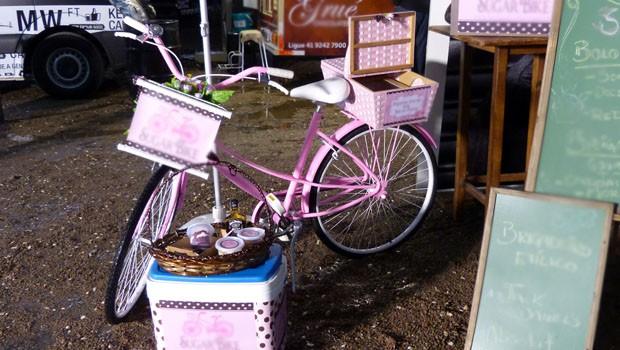 As food bikes também foram as atrações do evento (Foto: Divulgação/RPC)