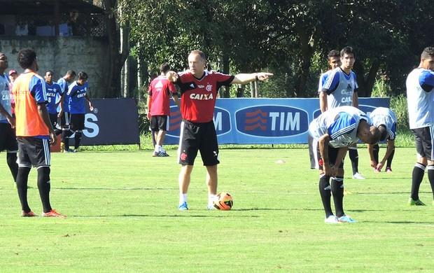 Mano, treino Flamengo (Foto: Cahê Mota)