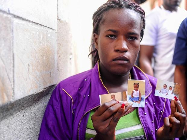 Haitianos vindos do Acre são acolhidos na Paroquia Nossa Senhora da Paz, em São Paulo (Foto: Flavio Moraes/G1)