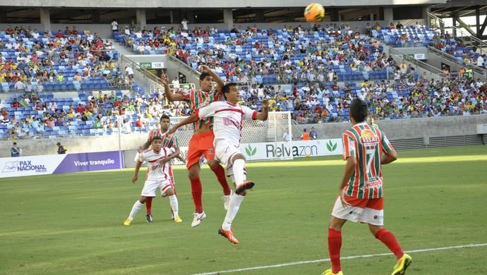 Operário faz 1 a 0 no Tombense e segue invicto (Foto: Robson Boamorte)