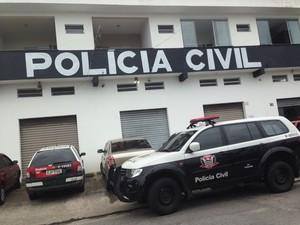 Delegacia de Itanhaém, SP (Foto: Guilherme Lucio da Rocha / G1)