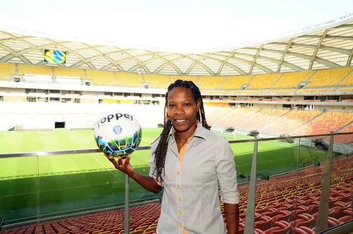 Formiga seleção brasileira (Foto: Mauro Neto/Sejel)