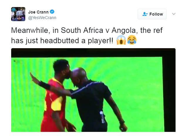 Juiz África do Sul x Angola