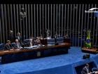 Senadores fazem considerações antes da votação do impeachment