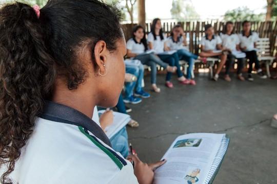 Escola E.M.F.-Profa (Foto: Acervo/Fundação Lemann)