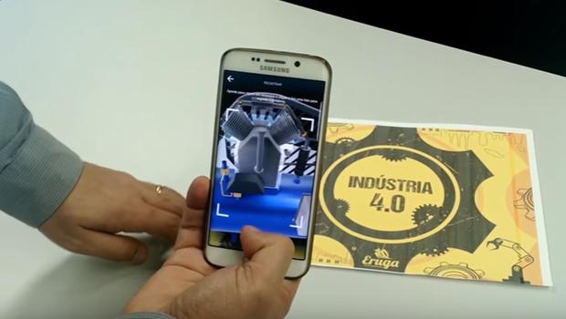 Demonstração da tecnologia da GoEpik (Foto: Reprodução/YouTube)