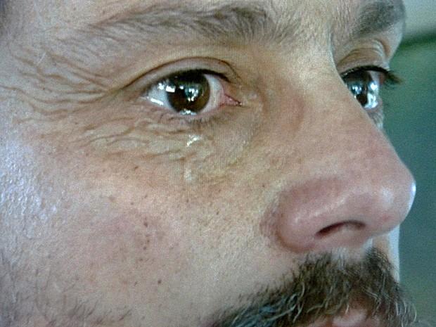 O que será que vai deixar Zé tão triste? (Foto: TV Globo)
