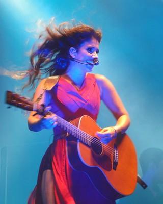 Paula Fernandes (Foto: Alexandre Lopes / G1)