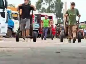 Ceasa em Porto Alegre (Foto: RBS TV/Reprodução)