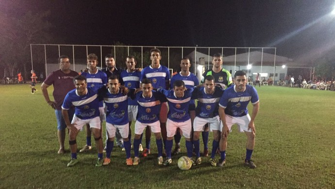 Equipe do Barcelona de Vilhena em campeonato amador (Foto: José Luiz/ arquivo pessoal )