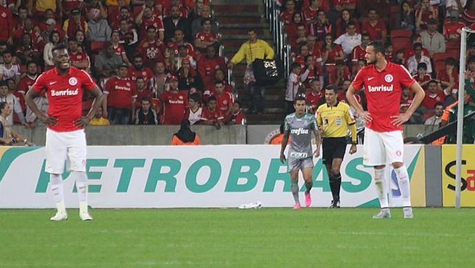 Palmeiras empata contra o Inter (Foto: Diego Guichard)
