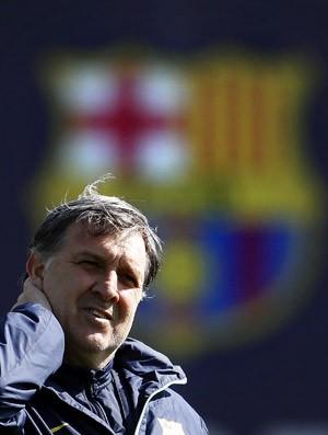 Tata Martino treino Barcelona (Foto: EFE)