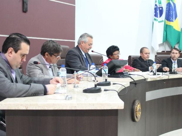Vereadores de Guarapuava aprovaram a redução das diárias dos parlamentares e dos servidores (Foto: Divulgação/Câmara)
