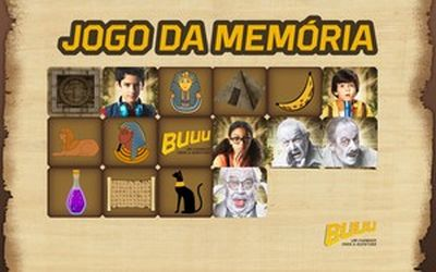 Jogo da Memória Buuu