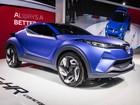 Toyota CH-R mostra conceito para futuro crossover compacto