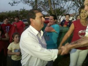 Valmir recebeu 36,98 % dos votos válidos. (Foto: Carlos Alberto Soares / TV TEM)